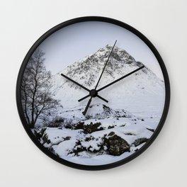 The Buachaille Etive Mor Mountain Wall Clock