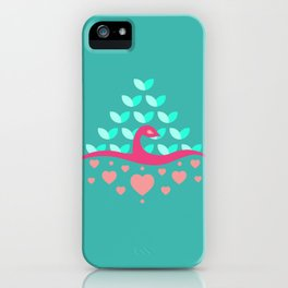Be Beautiful - Be Colourful Peacock iPhone Case