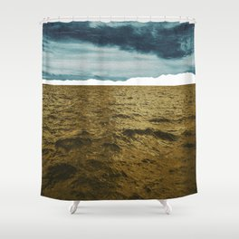 Lost Horizon1 Shower Curtain