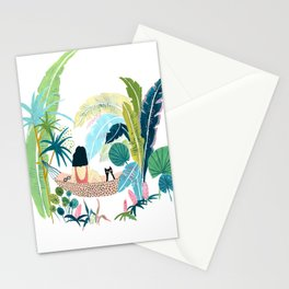Jungle Hammock Pals Stationery Cards