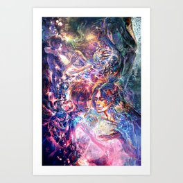 Who ignites the stars Art Print
