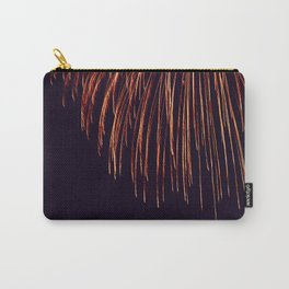 Beautiful Red and Orange Fireworks falling down in the sky! Carry-All Pouch