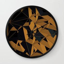 3D Futuristic GEO VI Wall Clock