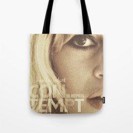 Brigitte Bardot, Contempt, movie poster, Le Mépris, Jean-Luc Godard, Fritz Lang, Tote Bag