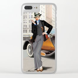 Very beautiful Chicago gangster Clear iPhone Case