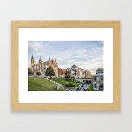 El Prado Museum. Madrid Framed Art Print