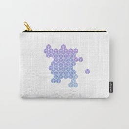 cube minimal abstract art Carry-All Pouch