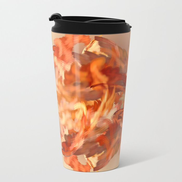 Feel the fire in your Cells Metal Travel Mug