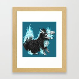 Puppy Cortavis Framed Art Print