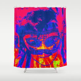 Mask Shower Curtain