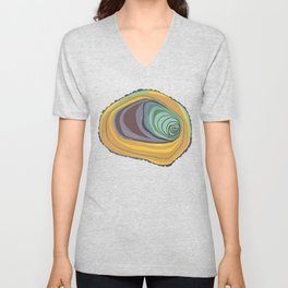 Tree Stump Series 1 - Illustration Unisex V-Neck