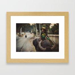 Asia 6 Framed Art Print