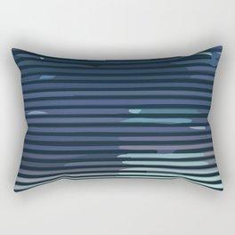 Wave #6 Rectangular Pillow
