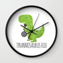 Tyrannosaurus Flex Wall Clock