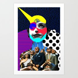 Julis Launch Art Print