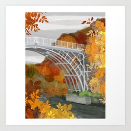 Ironbridge Art Print