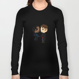 Inej x Kaz - Six of Crows / Crooked Kingdom (B) Long Sleeve T-shirt