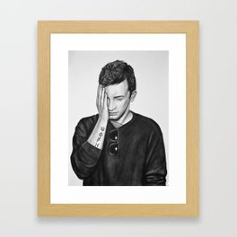 Fake You Out (Tyler Joseph) Framed Art Print