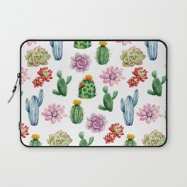 Cactus Watercolor Laptop Sleeve