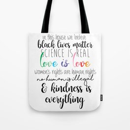 In This House Tote Bag