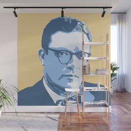 Isaac Asimov Wall Mural