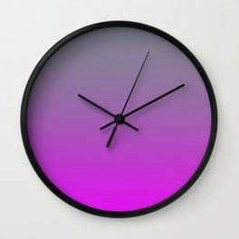 GET LOST - Minimal Plain Soft Mood Color Blend Prints Wall Clock