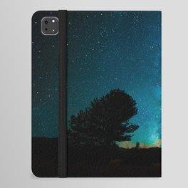 Milky Way Starry Night Photography iPad Folio Case