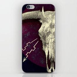 Beelzebub - devilish hybrid creature skull iPhone Skin