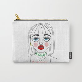 Eyeroll Carry-All Pouch