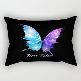 TIme Flyes Rectangular Pillow