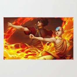 Aang and Zuko Rug