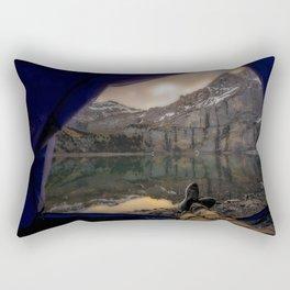 Tent View Rectangular Pillow