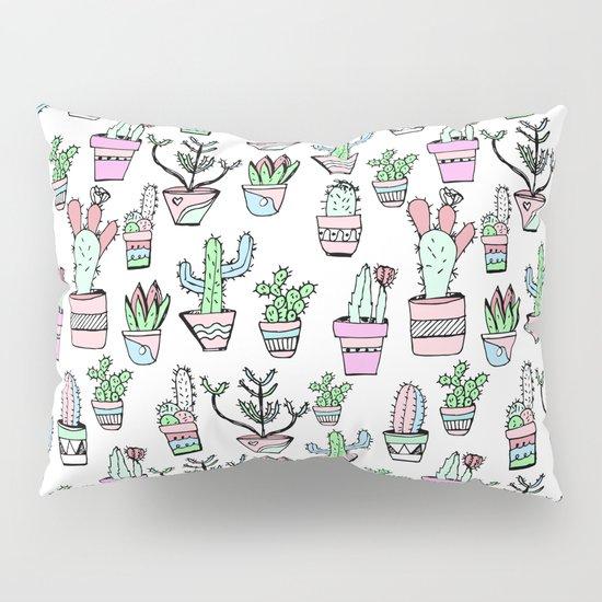 Cactus Pattern Pillow Sham