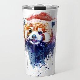 A Cute Red Panda Travel Mug