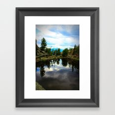 Gem Lake Framed Art Print