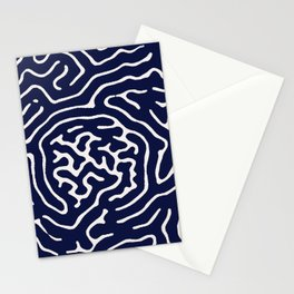Homemade wiggly pattern Stationery Cards