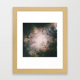 Sudden Fluidity of Time Framed Art Print