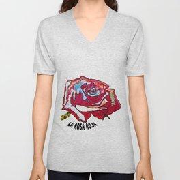 the rose Unisex V-Neck