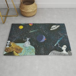 Nothingness is Everything Rug