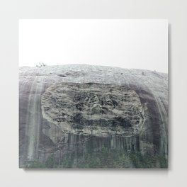 Atlanta Stone mountain park Metal Print
