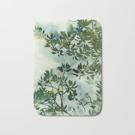 Wallpaper Foliage Bath Mat