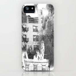 N.Y. collage iPhone Case