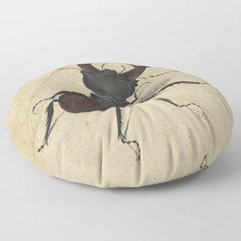 Stag Beetle - Albrecht Durer Floor Pillow