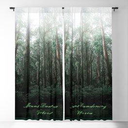 Mount Dandenong, Victoria Blackout Curtain