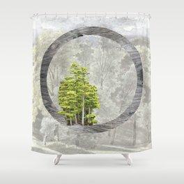 'Trees are sanctuaries' Shower Curtain