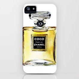 Illustration Fashion Poster iPhone Case