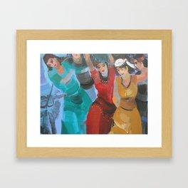 Turkish Wedding Framed Art Print