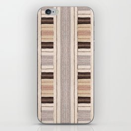 Flat Weavin 3 iPhone Skin
