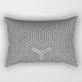 Odd one out Geometric Rectangular Pillow