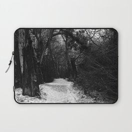Winter in the forest Laptop Sleeve